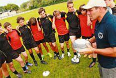 Colonies de vacances rugby
