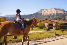 colonies de vacances équitation